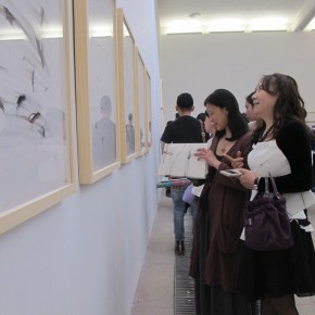 17 Installation view of the exhibition1 290x290 - Crusader–Li Di's New Works on Paper Debuted at the White Box Art Center