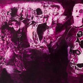 17 Kang Lei, Drama Life Series No.6, oil on canvas, 120 x 200 cm, 2012