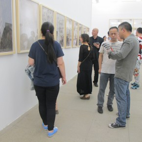 18 Installation view of the exhibition1 290x290 - Crusader–Li Di's New Works on Paper Debuted at the White Box Art Center