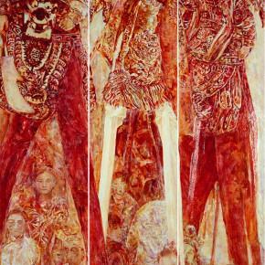 18 Kang Lei People•Play oil on canvas 350 x 180 cm 2008 290x290 - Kang Lei