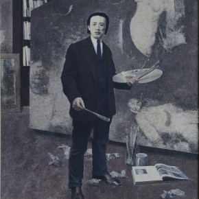19 Wang Yutian Lin Fengmian Created the Large scale Oil Painting 'Humanitarian' 240 x 160 cm 290x290 - Fengmian's 100 Years–Lin Fengmian's Life Show Inaugurated at MCACAA