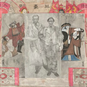 20 Wang Zan Appreciated the Art of Chinese Opera Together With Guan Liang 178.5 x 240 cm 290x290 - Fengmian's 100 Years–Lin Fengmian's Life Show Inaugurated at MCACAA