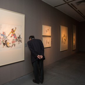 "22 Installation view of ""Ingenious and Expressive Guan Liang Painting Art Exhibition"" 290x290 - Beijing Fine Art Academy 20th Century Chinese Art Masters Series–Guan Liang Art Exhibition"