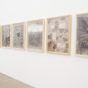 22 Installation view of the exhibition2 290x290 - Crusader–Li Di's New Works on Paper Debuted at the White Box Art Center