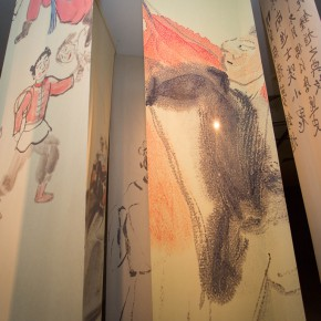 """23 Installation view of """"Ingenious and Expressive Guan Liang Painting Art Exhibition"""" 290x290 - Beijing Fine Art Academy 20th Century Chinese Art Masters Series–Guan Liang Art Exhibition"""