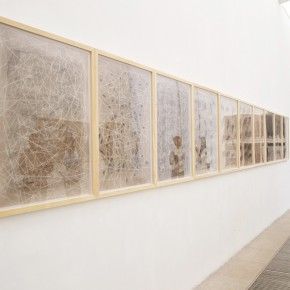 23 Installation view of the exhibition1 290x290 - Crusader–Li Di's New Works on Paper Debuted at the White Box Art Center