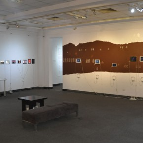 """24 Installation view of the exhibition 290x290 - """"The Oriental Rock-Dyestuff • The Tour to Buddha's Realm"""" Indian Investigation Exhibition at CAFA"""