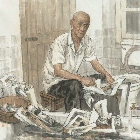 24 Wu Xiansheng Destroyed Paintings at Night 192.5 x 204 cm 290x290 - Fengmian's 100 Years–Lin Fengmian's Life Show Inaugurated at MCACAA