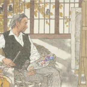 26 Xu Mo Painted in Yuquan Hangzhou136.5 x 233 cm 290x290 - Fengmian's 100 Years–Lin Fengmian's Life Show Inaugurated at MCACAA