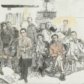30 Yu Zhenping Lin Fengmian and the His Friends Organized'Opus Society' 171.5 x 255 cm 290x290 - Fengmian's 100 Years–Lin Fengmian's Life Show Inaugurated at MCACAA