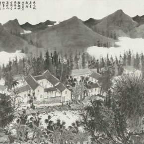 31 Zhang Guomin Lin Fengmian's Former Residence 160 x 139 cm 290x290 - Fengmian's 100 Years–Lin Fengmian's Life Show Inaugurated at MCACAA