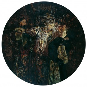 34 Kang Lei, The Old Album, diameter 200 cm, 2008