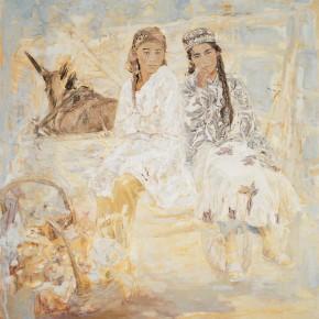 39 Kang LeiKashgarSpring oil on canvas 180 x 180 cm 2002 290x290 - Kang Lei