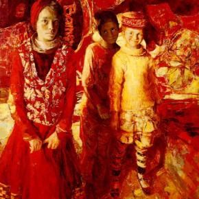 42 Kang Lei, The Innocent Eyes, oil on canvas, 160 x 128 cm, 2011