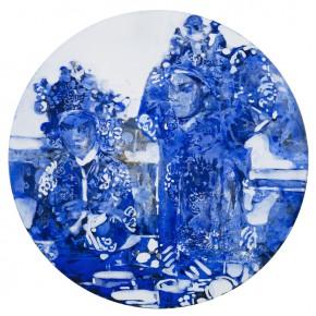 45 Kang Lei Spatial Essay No.4 tempera diameter 50 cm 2013 290x290 - Kang Lei