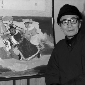 "49 Guan Liang and his work ""ChungkuelZhong Kui"" 290x290 - Beijing Fine Art Academy 20th Century Chinese Art Masters Series–Guan Liang Art Exhibition"