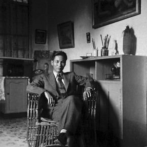 50 Guan Liang at his studio in the 1930s 290x290 - Beijing Fine Art Academy 20th Century Chinese Art Masters Series–Guan Liang Art Exhibition