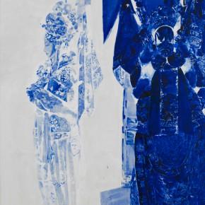 50 Kang Lei, Distance No.6, tempera, 200 x 140 cm, 2013