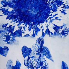51 Kang Lei, Distance No.5, tempera, 200 x 140 cm, 2013
