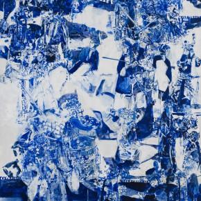 52 Kang Lei, Distance No.4, tempera, 200 x 140 cm, 2013