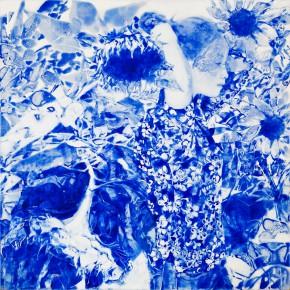 59 Kang Lei The Songs among Flowers No.3 tempera 60 x 60 cm 2014 290x290 - Kang Lei