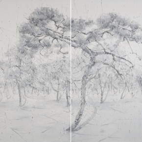 Fan Bo Deep and Serene Forest 2015 184cmX84cm 290x290 - Breaking the Image – Methods in the Treatment of Imagery by Contemporary Artists from China About to Open at Sishang Art Museum
