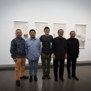 Group Photo of Honored Guests 290x290 - Jointly Portraying the South of the Yangtze River: Works by Shen Qin and Chen Qi Exhibiting at the Asia Art Center