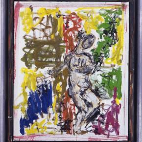 Markus Lüpertz After Marées – Woman plays with Colors 2002 Oil on canvas 100 x 81cm 290x290 - Exhibition of recent works by Markus Lüpertz opens April 25 at the Times Art Museum in Beijing