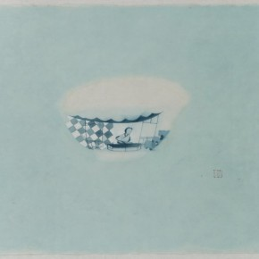 Shen Qin Porcelain 2015 Ink and Color on Paper 55x69cm 290x290 - Art Works by Shen Qin & Chen Qi to be Presented at Asia Art Center in Beijing