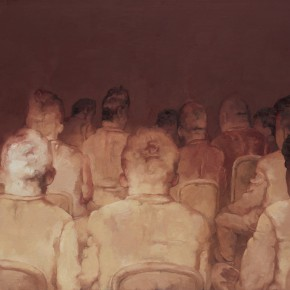 "Su Xinping Conference Hall No. 1 2009 Oil on canvas 60×80cm 290x290 - The exhibition ""Su Xinping's Painting Diary"" was unveiled at K. Gallery in Chengdu"