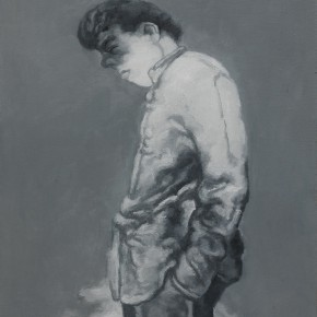 Su Xinping, Meditator, 2010; Oil on canvas, 80×60cm