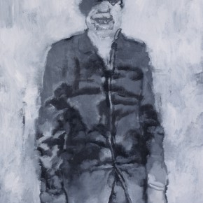Su Xinping, Smiling Man, 2010; Oil on canvas,  100×73cm