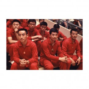 "Weng Naiqiang L7 National Champions 70x70cm 290x290 - Chinese Contemporary Photographic Exhibition ""The Persistence of Images: 2×6"" Opening at Redtory in Guangzhou"