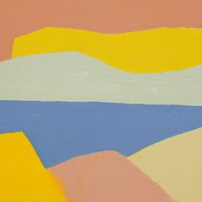 New paintings by Lebanese-born writer and artist Etel Adnan debuts in White Cube, Hong Kong