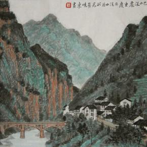 02 Cui Xiaodong In the Depth of Bashan Mountain35 x 47 cm 2008 290x290 - Cui Xiaodong