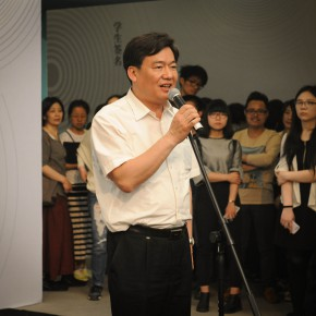"""02 Gao Hong Party Secretary of the Central Academy of Fine Arts addressed the opening ceremony 290x290 - The Extension of """"Researching Exhibition"""": 2015 CAFA Postgraduate Exhibition is unveiled at CAFAM"""