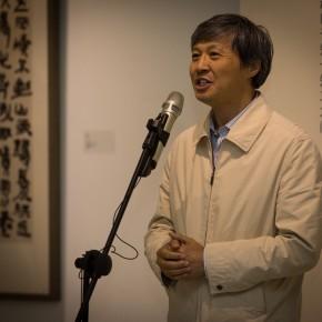"03""Round and Square Characters Lu Fusheng Chinese Calligraphy Art Exhibition"" opened – Chen Hongwu Party Secretary of Chinese Calligraphers Association addressed 290x290 - ""Lu Fusheng's Chinese Calligraphy Art Exhibition"" Debuted and the ""Fusheng Font"" Announced in Beijing"