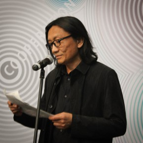 """03 Su Xinping Vice President of CAFA made a speech 290x290 - The Extension of """"Researching Exhibition"""": 2015 CAFA Postgraduate Exhibition is unveiled at CAFAM"""