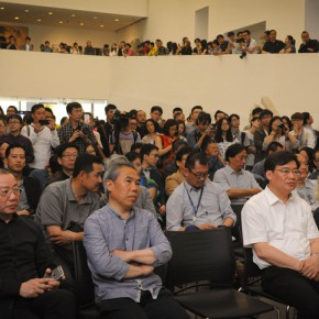 """07 The opening ceremony of 2015 CAFA Graduate Exhibition for Postgraduates 290x290 - The Extension of """"Researching Exhibition"""": 2015 CAFA Postgraduate Exhibition is unveiled at CAFAM"""