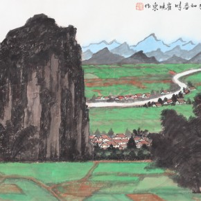 08 Cui Xiaodong The Green Northern Guilin in the Spring 290x290 - Cui Xiaodong