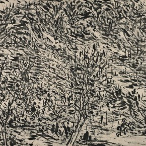 08 Cui Zhenkuan Dayu of Qinling 155.5 x 362.5 cm 2014 290x290 - Mountains in Meditating – Cui Zhenkuan Chinese Painting Exhibition Opening at the National Art Museum of China