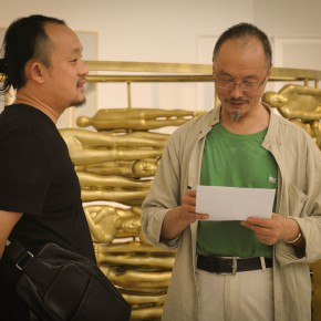 """09 The opening ceremony of 2015 CAFA Graduate Exhibition for Postgraduates 290x290 - The Extension of """"Researching Exhibition"""": 2015 CAFA Postgraduate Exhibition is unveiled at CAFAM"""