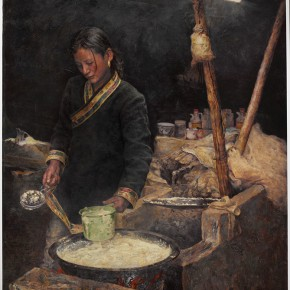 10 Guo Hua The Melody of Moring oil on canvas 150 x 180 cm 2012 290x290 - Pursuit of the Sublimation of the Mind – Guo Hua and Zhang Liming Oil Painting Exhibition at the Chinese Academy of Oil Painting