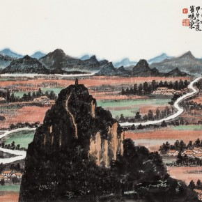 17 Cui Xiaodong, Land in Northern Guilin– Autumn Landscape
