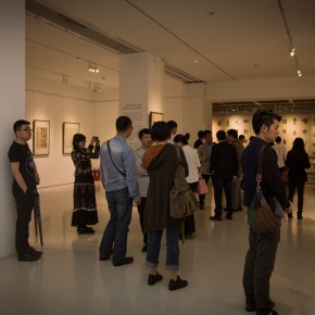 "18""View of the opening ceremony of ""Round and Square Characters Lu Fusheng Chinese Calligraphy Art Exhibition"""