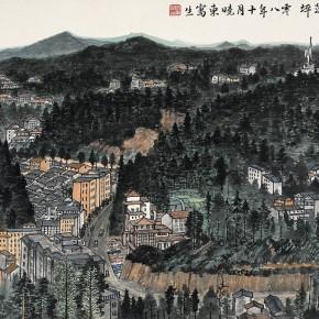 23 Cui Xiaodong Sketch of Ciping in Jinggang Mountain 69 x 46 cm 2008 290x290 - Cui Xiaodong