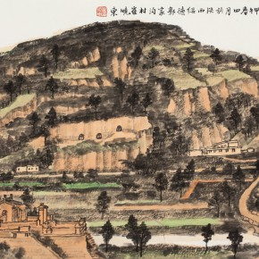 38 Cui Xiaodong Sketch of the North of Shaanxi No.1 2014 290x290 - Cui Xiaodong