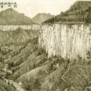 40 Cui Xiaodong Tai hang Mountains 290x290 - Cui Xiaodong