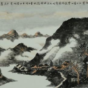 43 Cui Xiaodong Clouds and Rains Over Wushan 96 x 50 cm 2012 290x290 - Cui Xiaodong