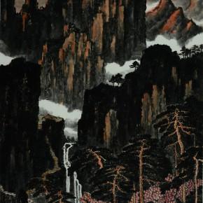44 Cui Xiaodong Mountains in the Setting Sun 290x290 - Cui Xiaodong